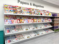 Newsagents Magazine and Newspaper Display Stand
